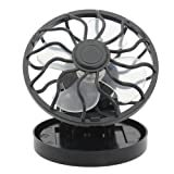 Portable Mini Solar Powered Clip Fan & Cooling Fan Energy Saving by WDS Electric Heater and Cooling Fan