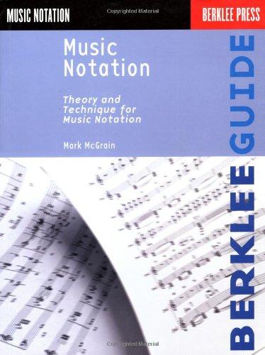 Music Notation Symbols - Music Notation (Berklee Guide)