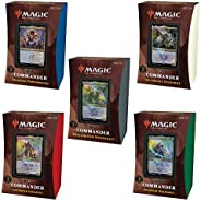 Magic The Gathering Strixhaven Commander Deck Bundle – Includes 1 Silverquill Statement + 1 Prismari Performan