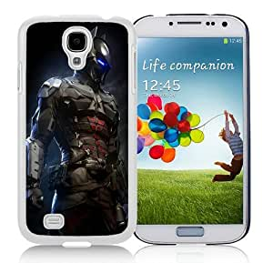 High Quality Samsung Galaxy S4 I9500 Case ,Cool And Fantastic Designed Case With Batman-Arkham-Knight-Game White Samsung Galaxy S4 I9500 Cover