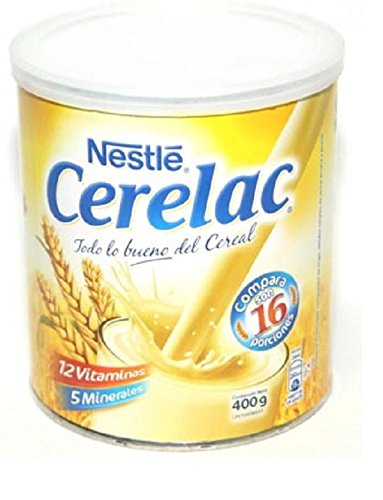 Amazon.com: Nestle Cerelac Instant Nutritious Food Drink With 12 Vitamins 5 Minerals 400g/14.10oz: