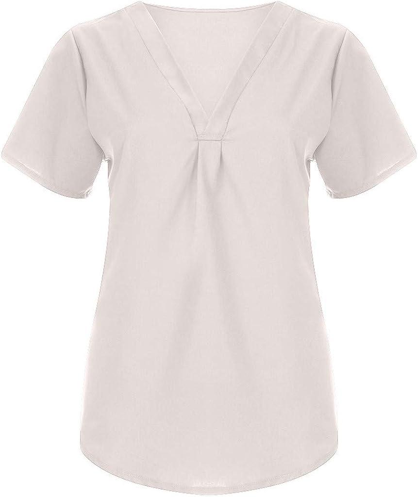 iYmitz Elegant Damen Tanktop /ärmellose V-Ausschnitt Rippstrick T-Shirt Top Damen Sommer Oversize Tiefe V-Ausschnitt Sehr Angenehm Frauen Bluse