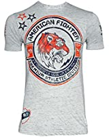 American Fighter Men's Louisville Tee Shirt Blue