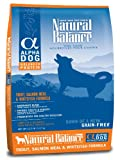 Natural Balance Alpha Grain-Free Trout, Salmon Meal, and Whitefish Formula for Dogs, 12-1/2-Pound Bag, My Pet Supplies