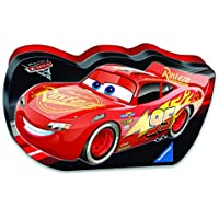 Ravensburger Disney Cars 3 100-Piece Let's Go In A Cars Shaped Box Puzzle