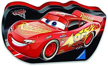 Ravensburger Disney Cars 3 100-Pcs. Cars Shaped Box Puzzle