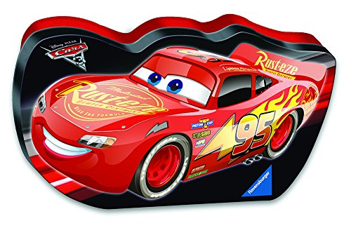 Ravensburger Disney Cars 3 Let's Go In A Cars Shaped Box 100 Piece Jigsaw Puzzle for Kids – Every Piece is Unique, Pieces Fit Together Perfectly for $<!--$17.86-->