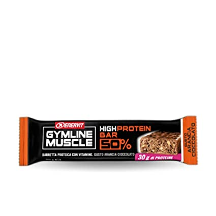 Enervit Gymline muscular High Protein Bar 50% 60g Naranja-Chocolate 1 Finger