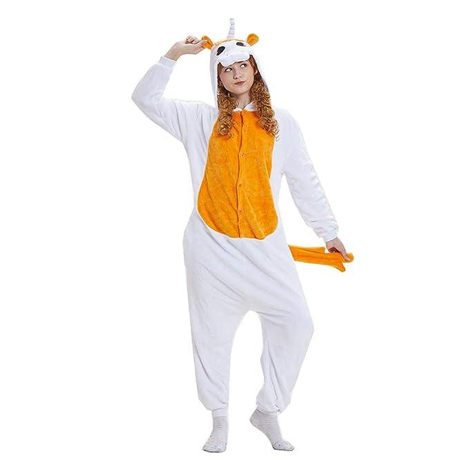 Mono De Animales Unisex, Pijamas De Unicornio, Hombres Y Mujeres Jóvenes, Disfraces De Halloween, Disfraces De Animales Siameses.: Amazon.es: Ropa y ...