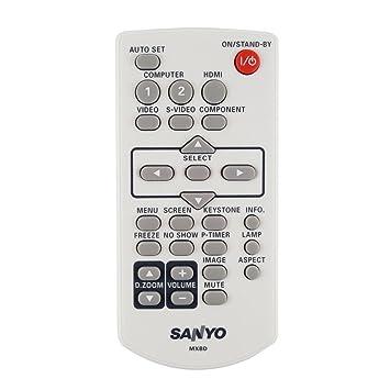 Auténtica Sanyo mxbd Proyector mando a distancia: Amazon.es ...