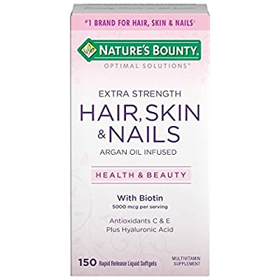Nature's Bounty Optimal Solutions Hair Skin & Nails Extra Strength