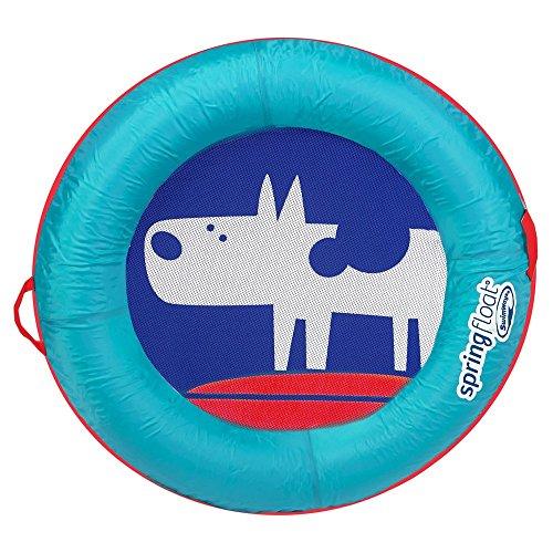 Swim Pool Games - Spring Float Kid's Boat - Dog Green Kids N