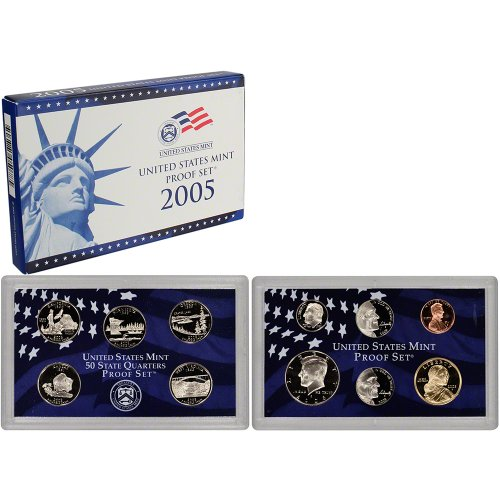 2005 S US Mint Proof Set Original Government Packaging