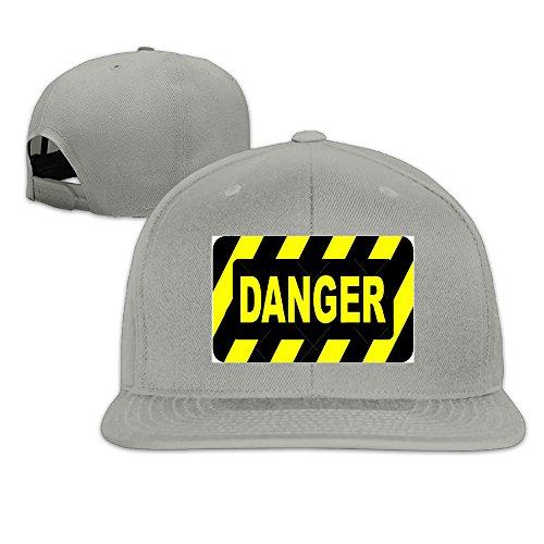 ColorSee 4399423-Danger-Sign-Stock-Vector-safety.png Men Women Baseball Caps Snapback Hip Hop Flat - Png Woman Vector