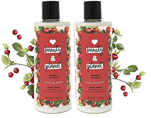 Love Beauty & Planet - NURTURING NECTAR Body Wash 2-PACK - 16oz Each
