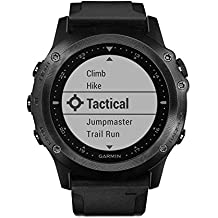 Garmin Tactix Bravo GPS Black With Silicone Strap, One Size