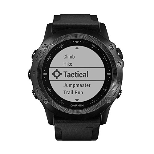 Garmin Tactix Bravo GPS Black With Silicone Strap, One Size by Garmin
