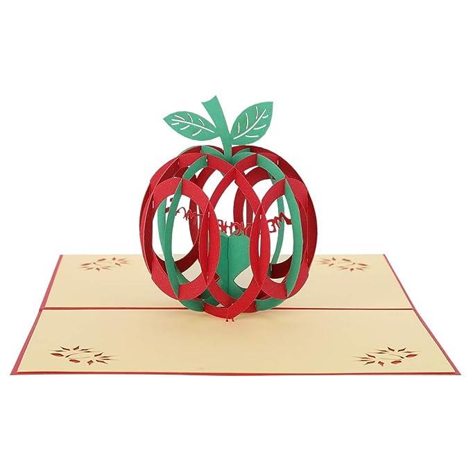 Rubywood & Chili Tarjetas de Navidad 3D, tarjeta de ...