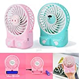 Gillberry Portable Rechargeable Fan Air Cooler Mini Desk USB...