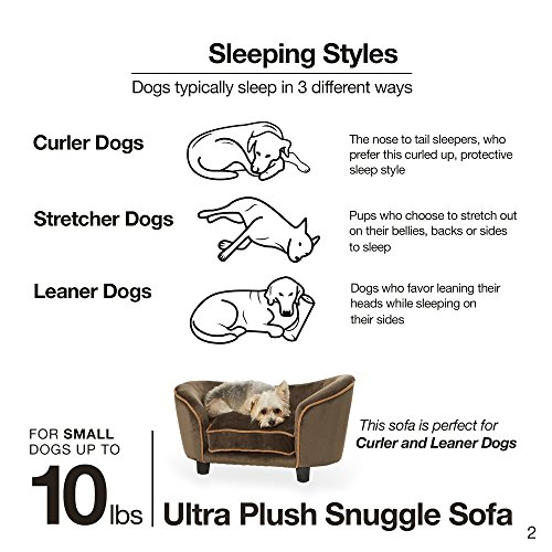 Enchanted Home Pet Ultra Plush Snuggle Pet Bed In Dark Grey by Enchanted Home Pet (Image #2)
