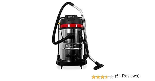 Klarstein IVC-30 Aspirador industrial ideal para agua y polvo, 80L ...