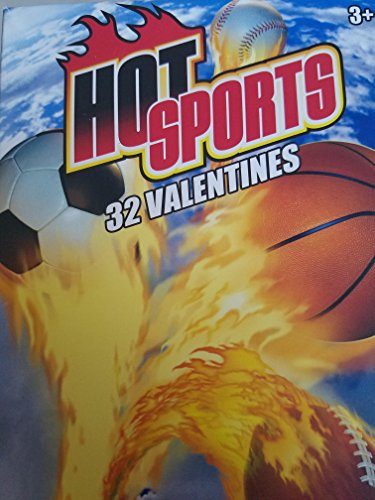 Paper Magic Hot Sports 32CT Valentine Cards
