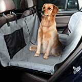 Docamor Premium Dog Car Seat Covers with Shield, Hammock Convertible, Waterproof Slip-Resistant, Durable Scratch Dog Seat Covers for Car, Trucks and SUVs Review
