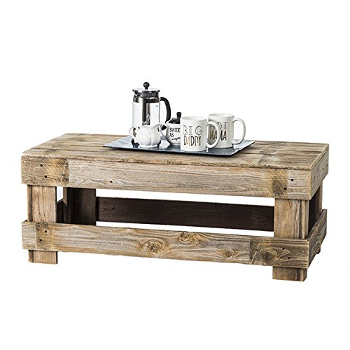 Rustic Barnwood Coffee Table, USA