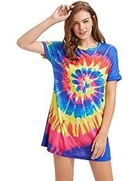 Tie-dye dress images