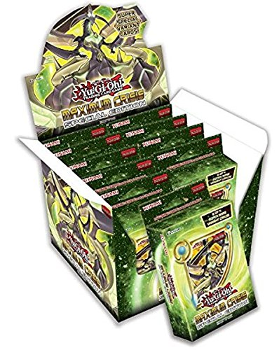 Yu Gi Oh Maximum Crisis Special Booster product image