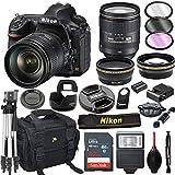 Nikon D850 DSLR Camera with 24-120mm VR Lens + 32GB Card, Tripod, Flash, and More (20pc Bundle)