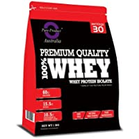 Pure Product Australia 100% Whey Protein Isolate VANILLA 1kg
