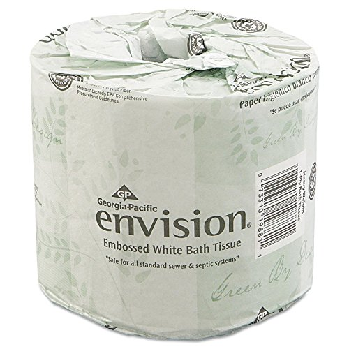 Georgia Pacific Professional 1988001 Bathroom Tissue, 550 Sheets/Roll, 80 Rolls/Carton