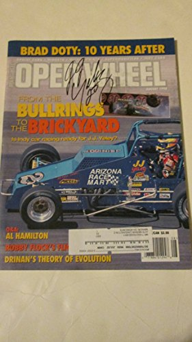 Racing Car Indy Magazine (OPEN WHEEL Magazine August 1998 Volume 18 Number 8 (Brad Doty, Indy car racing, Al Hamilton, Robby Flock's Flight, Drinan's theory of evolution))