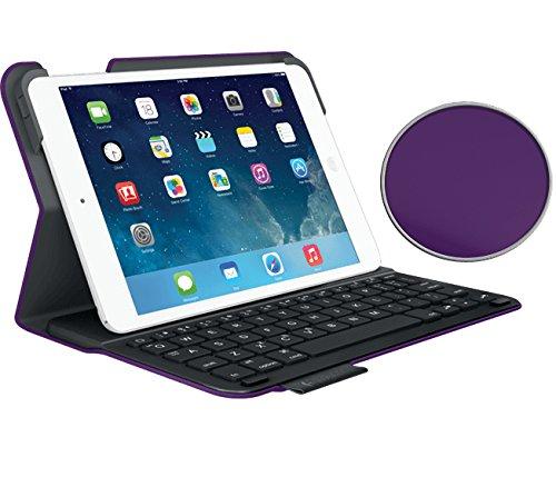 Logitech Ultrathin Keyboard Folio for iPad Mini 1, iPad Mini 2, iPad Mini 3, - Purple (NOT for iPad Mini 4 - will NOT fit)) (Logitech Ultrathin Ipad Mini Keyboard Case Review)