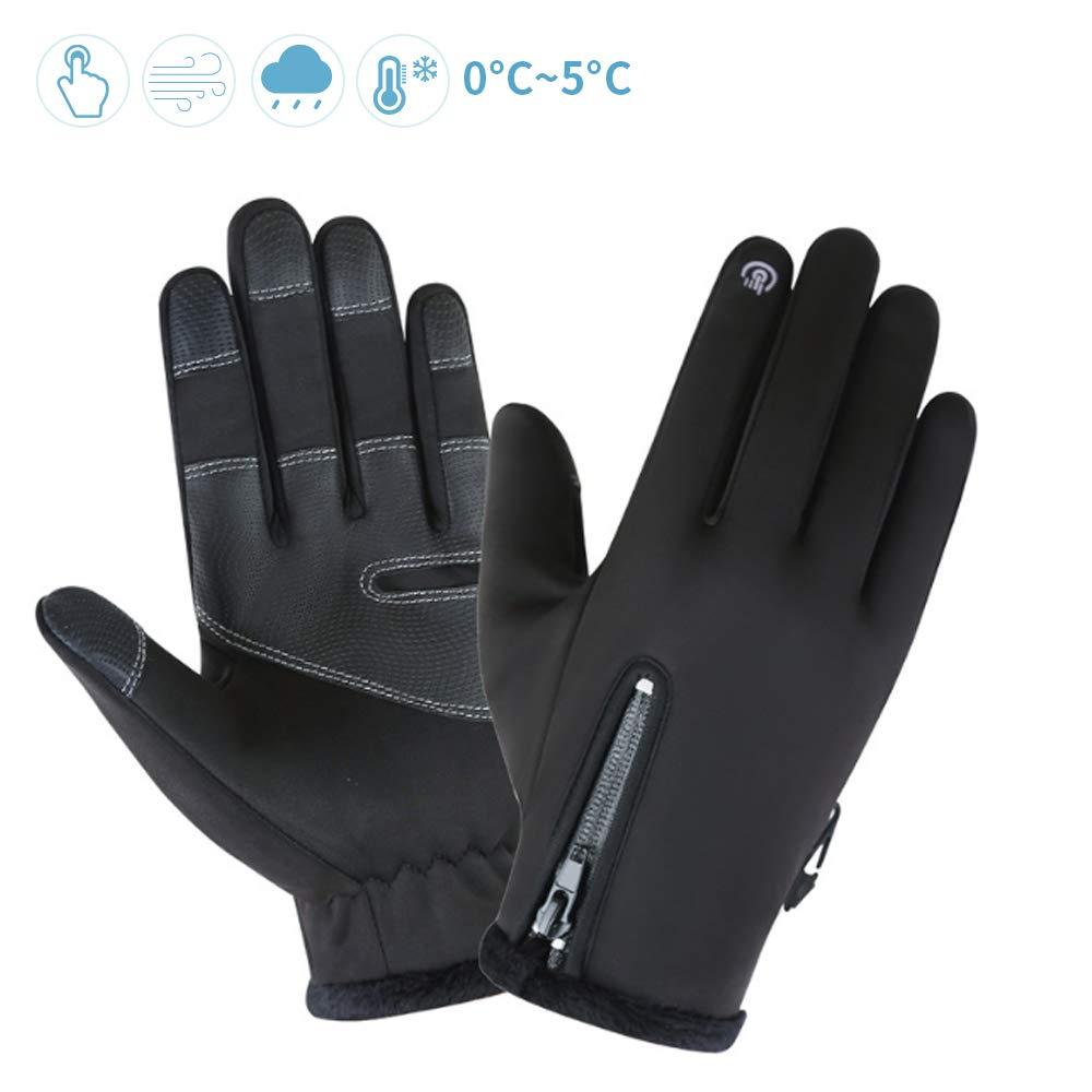 Snowboard Guanti Esterni Sportivi con Touch Screen Invernali Antivento Termici Impermeabili Antiscivolo per Uomo e Donna per Sci Alpinismo Bici Moto Trekking
