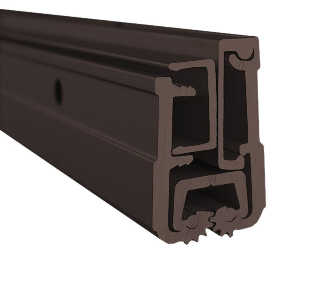 Global Door Controls THI-1183LFHD-DU Continuous Hinge Heavy Duty Frame, 83'', Duronotic Finish by Global Door Controls