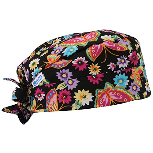 - GUOER Scrub Hat Calabash Hat Scrub Cap Calabash Scrub Hat One Size Multiple Colors (NEW08)