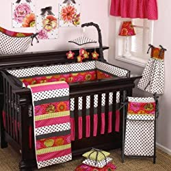 Cotton Tale Designs Tula 10 Piece Girl's Crib Bedding Set