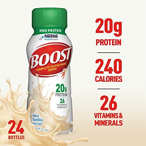 Boost High Protein Powder Drink Mix (Best High Protein Drink For Elderly)