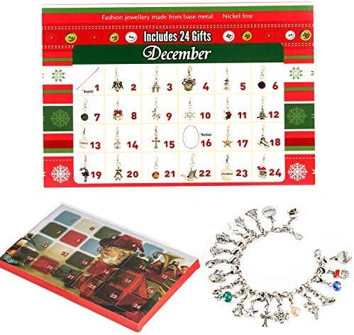 Melon Boy Advent Calendar – DIY Fashion Jewelry Set with Christmas Countdown Advent Calendars for Kids 2019