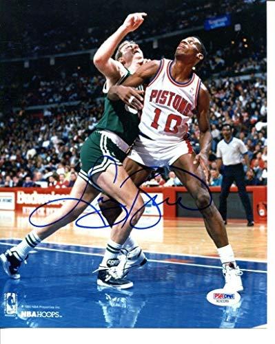 Larry Bird Signed Photo 8x10 Autographed Celtics PSA/DNA ()