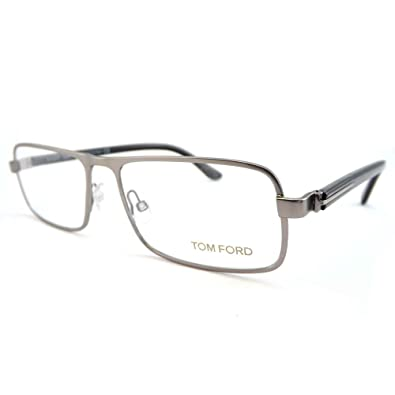 fdc903b9921 Image Unavailable. Image not available for. Color  Tom Ford Rx Eyeglasses - TF5201  Silver 56mm   Frame only ...