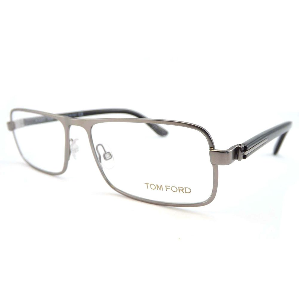 Tom Ford Rx Eyeglasses - TF5201 Silver 56mm / Frame only with demo lenses.