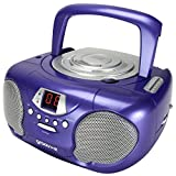 Groov-e CD/Radio Player - Purple