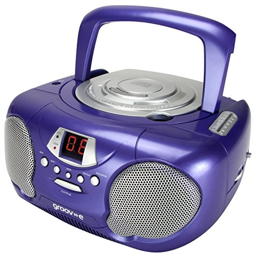 Groov-e CD/Radio Player - Purple by Groove
