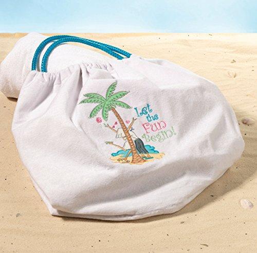 Lillian rose Let The Fun Beach bag