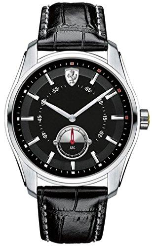 Scuderia-Ferrari-GTB-Black-Dial-SS-Leather-Multi-Quartz-Male-Watch-830231