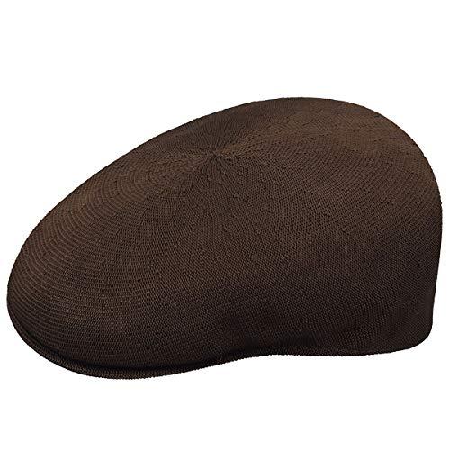 Brown Headwear - Kangol Men's Tropic 504, Brown, Small