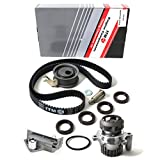 NEW ITM306HTWP (150 Teeth) Timing Belt Kit, Hydraulic Tensioner (Auto Adjuster), & Water Pump Set (w/ Metal Impeller)